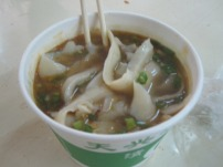 knife scraped noodles in soup