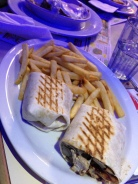 after midnight diner portabella wrap