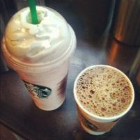 strawberry starbucks and coffee