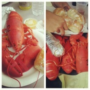 must have Maine lobster with butter