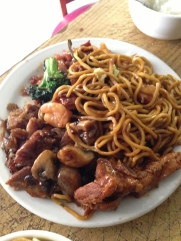americanized chinese lunch buffet