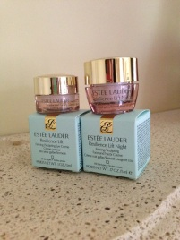 Estee Lauder Resilience life eye and face cream $10