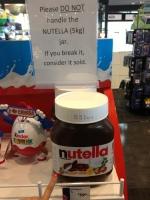 Jumbo Nutella (Toronto, Canada)