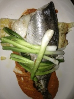 Shallot & Herb Roasted Carolina Trout (Park Restaurant and Bar/Boston MA)