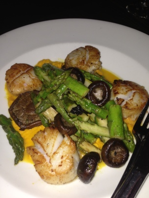 Seared Sea Scallops (Park Restaurant and Bar/Boston MA)