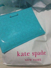 Kate Spade clutch for birthday