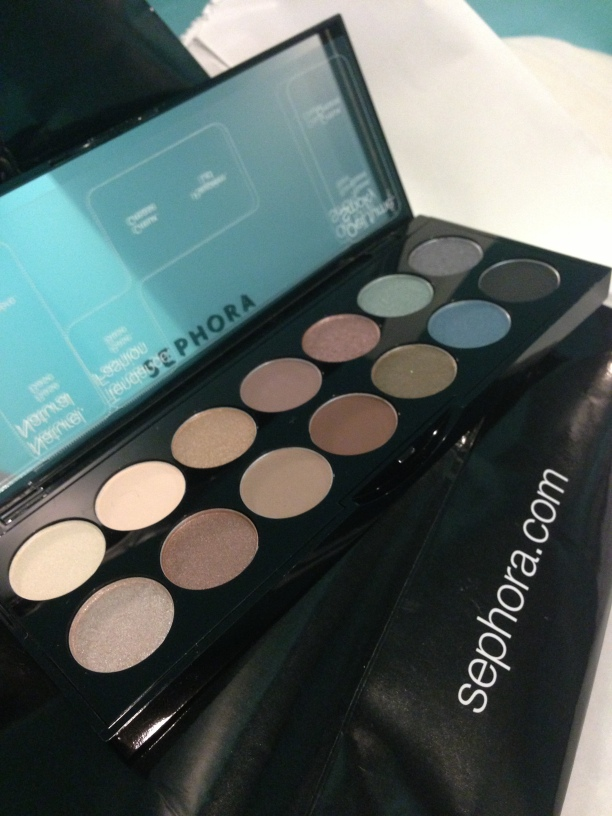 Sephora eyeshadow kit