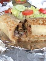 Burrito (Montecristo Mexican Grill/Boston MA)