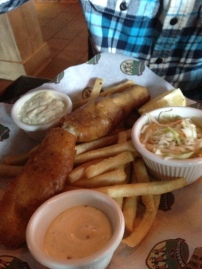 Fish & Chips (Les 3 Brasseurs/Montreal)