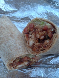 Texan Buffalo wrap (JP House of Pizza/Jamaica Plain MA)