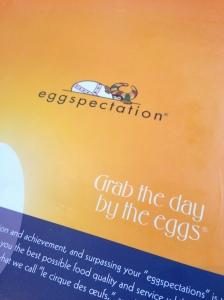 Eggspectation restaurant breakfast