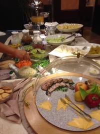 Capital hotel breakfast buffet