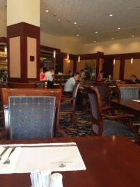 Capital Hotel fancy breakfast