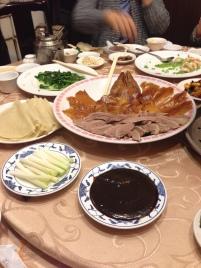 Roasted Beijing duck