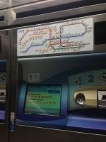 Subway machine payment
