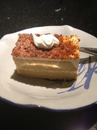 dessert cake with tea plate 6