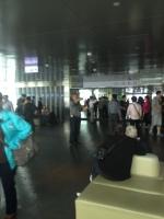 inside the observation deck