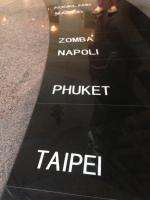 Shopping mall cities floor tiles