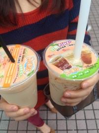 Black sugar milk tea