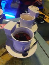 Guiyuan Fruit tea and hot chocolate