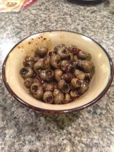 spicy snails
