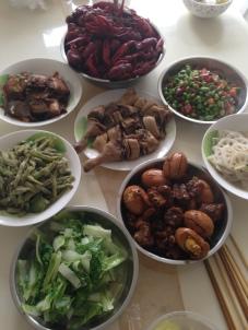 homemade dinner