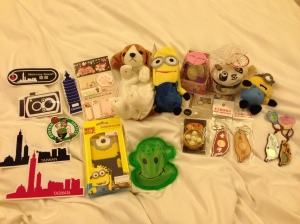 Small souvenir goodies from night market