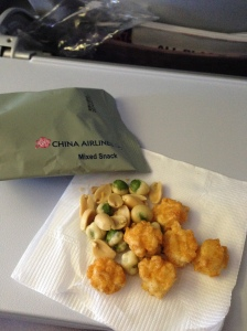 China airlines asian snack