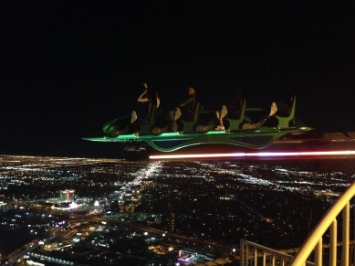 Top of the stratosphere Ride